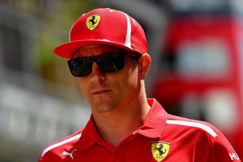 Kimi Räikkönen í Búdapest.