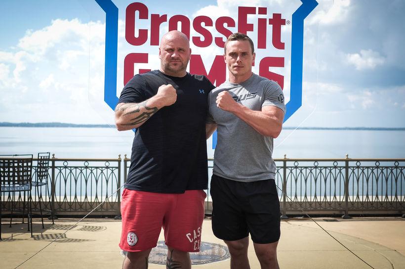 Snorri Barón og Björgvin Karl á CrossFit-leikunum 2018.
