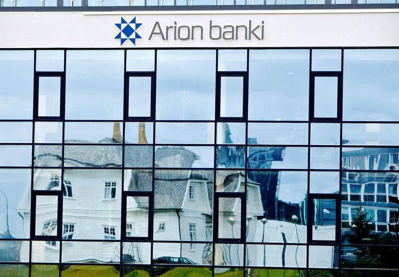Arion banki greiddi 880 milljónir í sérstakan bankaskatt á mánuðunum ...
