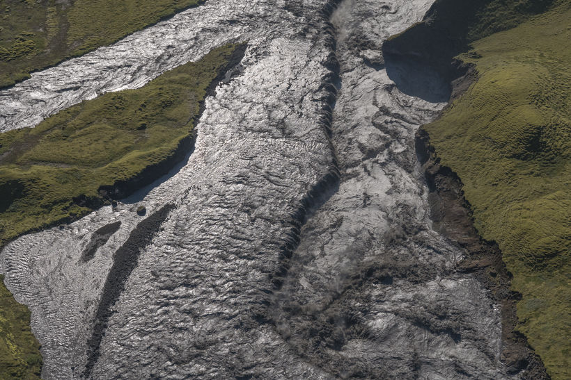 From a glacial outburst flood in Skaftá river in August …
