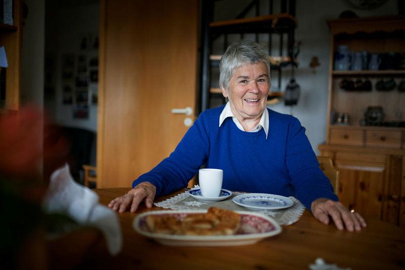 Jarmila Hermannsdóttir hefur búið á Íslandi í 64 ár og ...