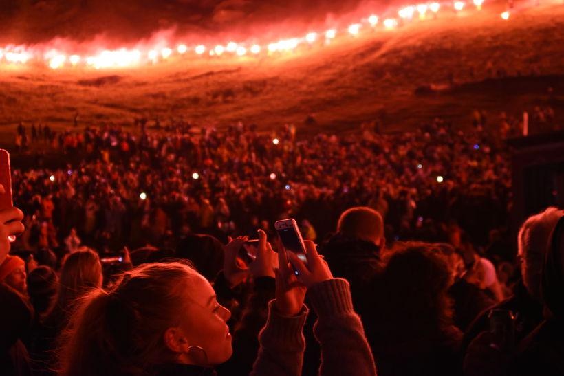 From last year's Þjóðhátíð.