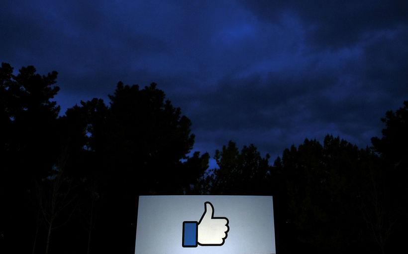 """""""Like"""" á Facebook hafa verið nefnd sem dæmi um þá ..."""