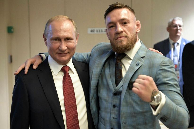 Conor McGregor segir Vladimir Putin einn mesta leiðtoga vorra tíma.