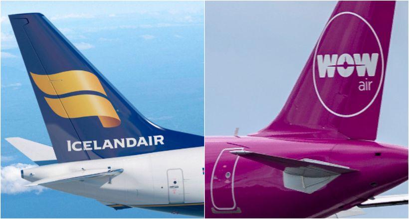Bréf í Icelandair hafa hækkað í dag og í gær, ...
