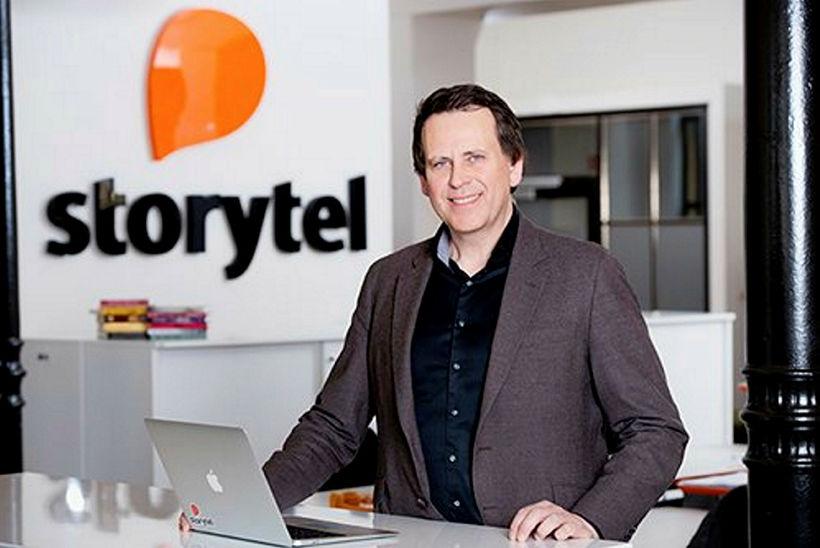 Stefán Hjörleifsson hjá Storytel.
