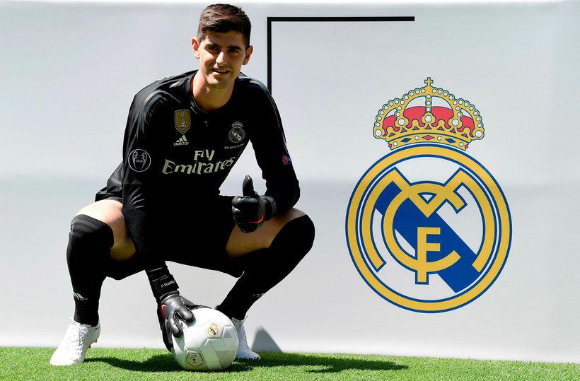 Thibaut Courtois er orðinn leikmaður Real Madrid.