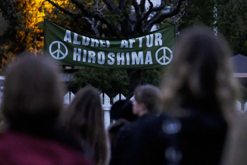 """""""Hiroshima- never again:"""""""