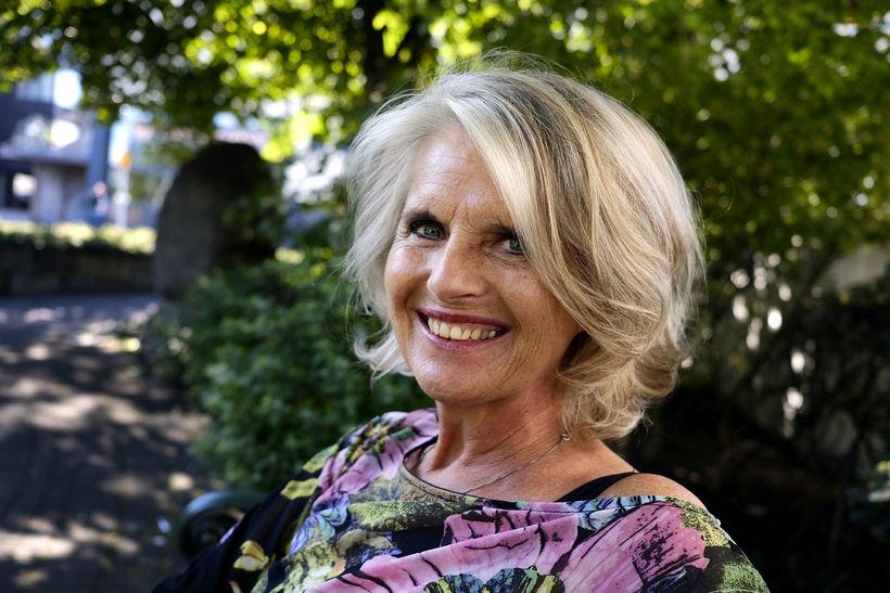 Edda Björgvinsdóttir.