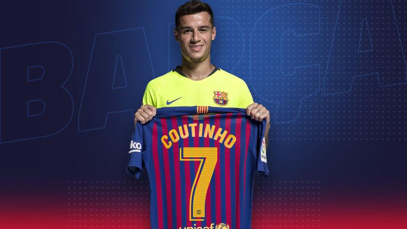 Philippe Coutinho mun klæðast treyju númer sjö hjá Barcelona á ...