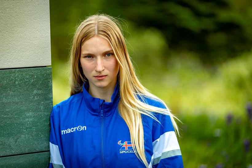 Stefanía Daney frjálsíþróttakona.