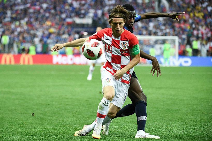 Luka Modric vill fara til Ítalíu.