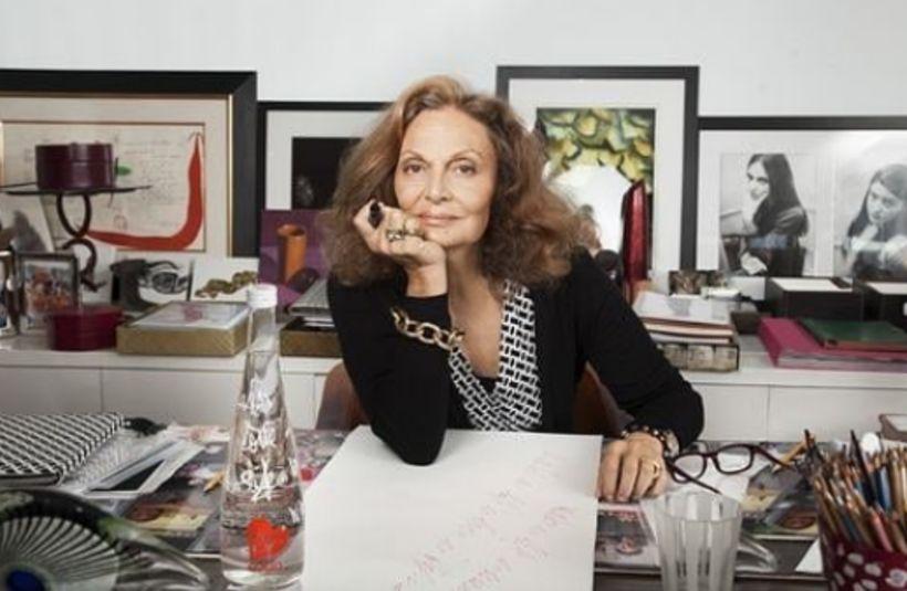 Diane von Furstenberg er sterk kona sem hefur byggt upp ...