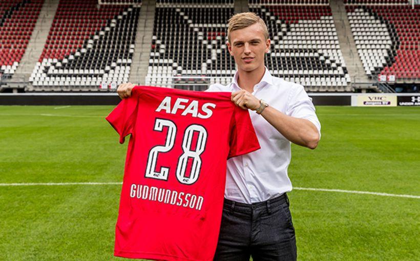 Albert Guðmundsson er kominn til AZ Alkmaar í Hollandi.