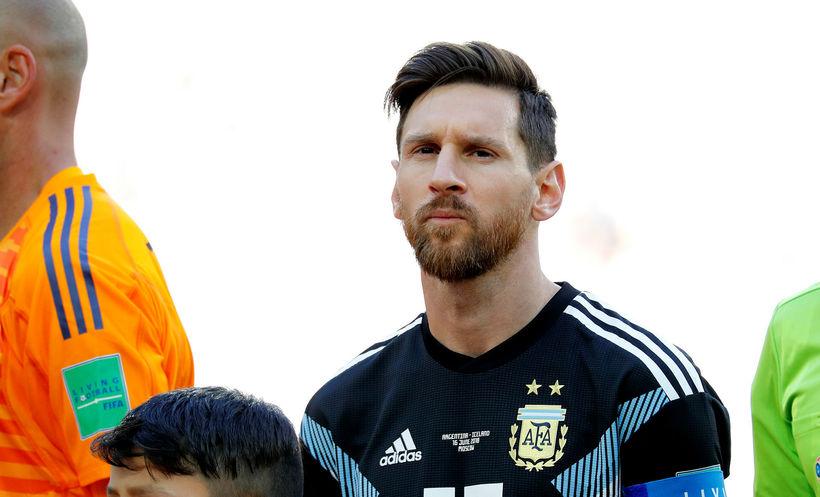 Lionel Messi gæti verið búinn að spila sinn síðasta landsleik.