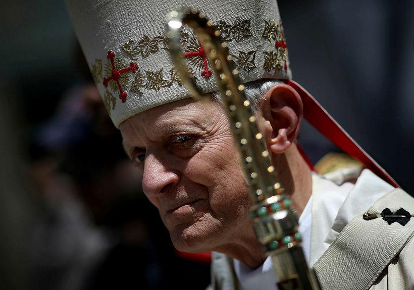 Donald Wuerl, kardináli og erkibiskup í Washington, er sagður hafa ...