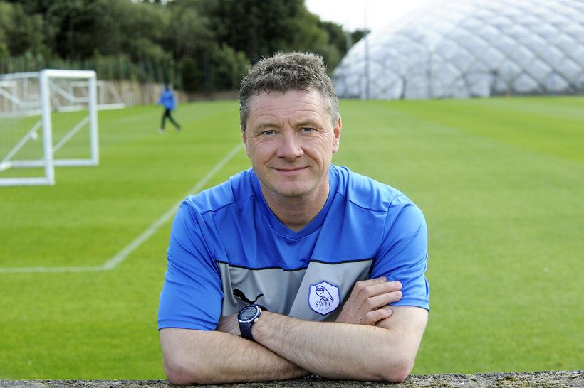 Dean Ramsdale þegar hann starfaði fyrir Sheffield Wednesday.