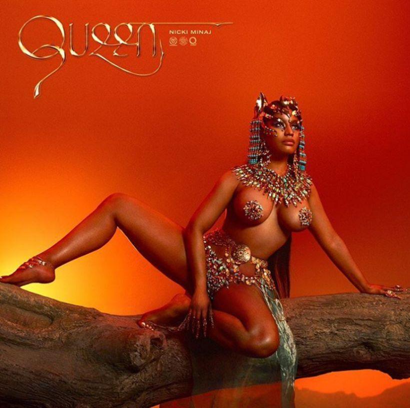 Nicki Minaj gaf út plötuna Queen í síðustu viku.