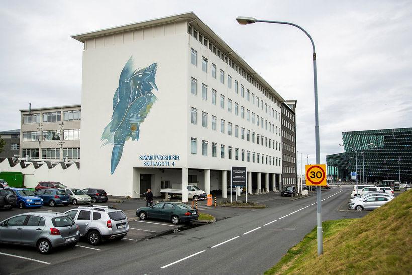 Húsakynni Hafrannsóknastofnunar að Skúlagötu 4.