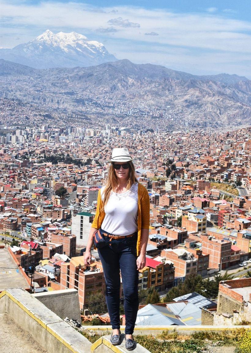 Í borginni La Paz í Bólivíu.