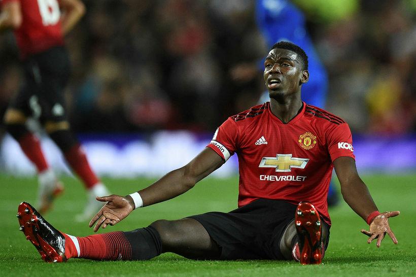 Paul Pogba var frábær í 2:1-sigri United á Leicester City ...