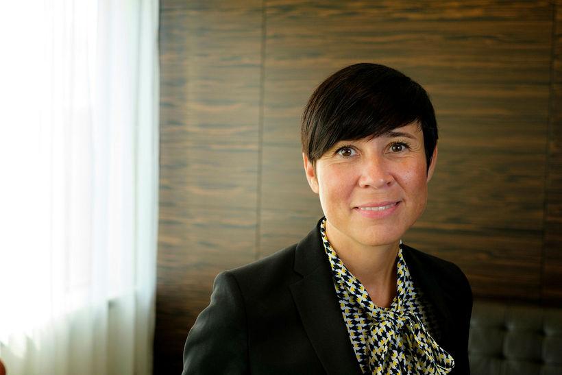 Ine Marie Eriksen Søreide, utanríkisráðherra Noregs.