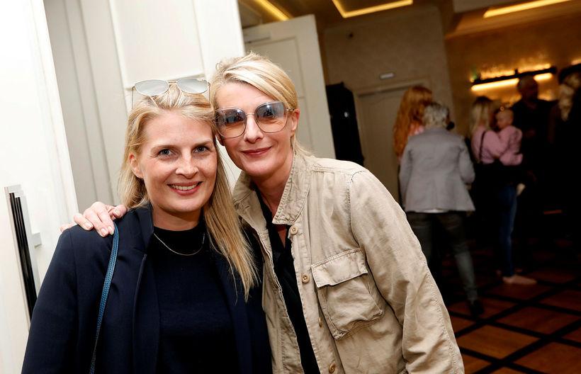 Jenný Ýr Jóhannsdóttir og María Hlín Sigurðardóttir.