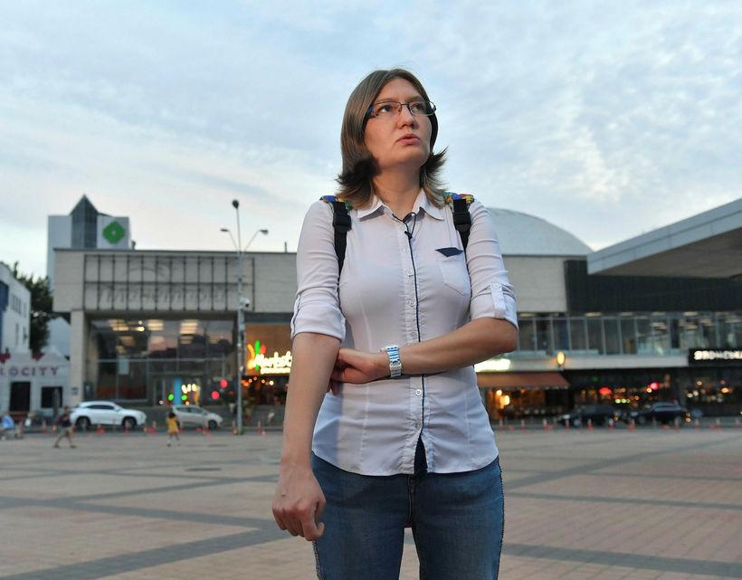 Natalya Kaplan, frænka Sentsov.