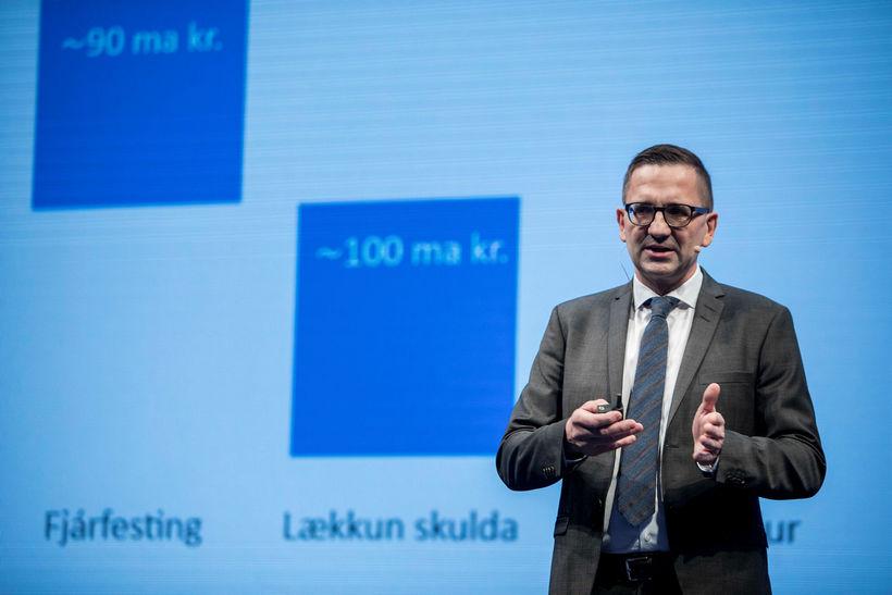 Hörður Arnarson, forstjóri Landsvirkjunar, á haustfundi fyrirtækisins sl. haust.