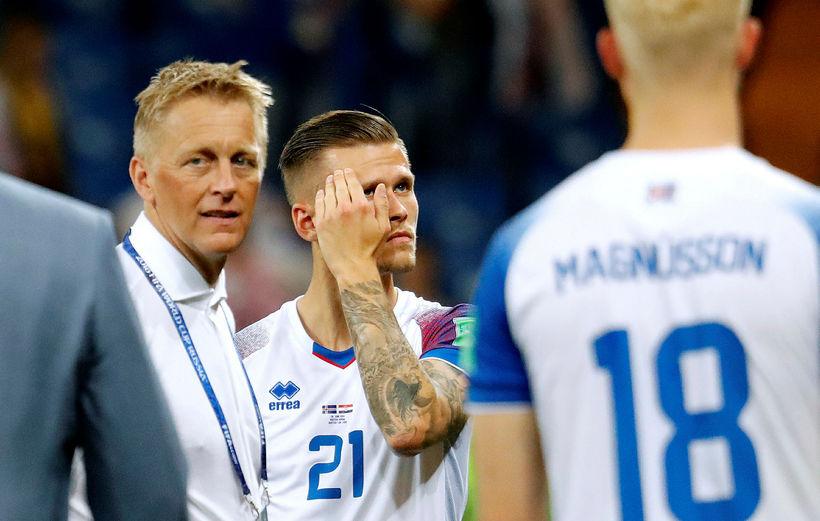 Heimir Hallgrímsson er hættur með landsliðið.
