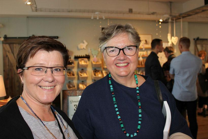 Guðfinna Sveinbjörnsdóttir og Helga Sóley Torfadóttir.