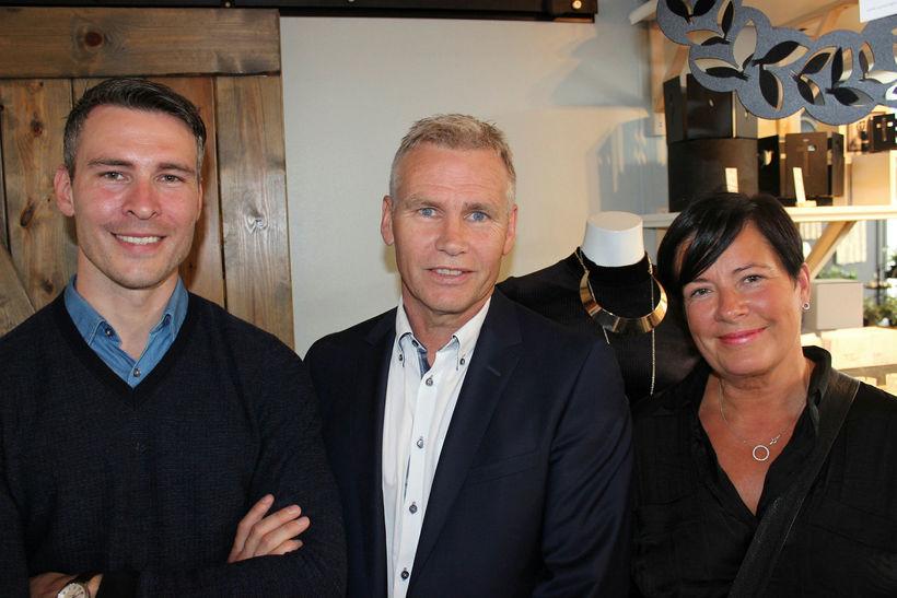 Eðvald Ingi Gíslason, Gísli Ágúst Guðmundsson og Birna Jósefsdóttir.
