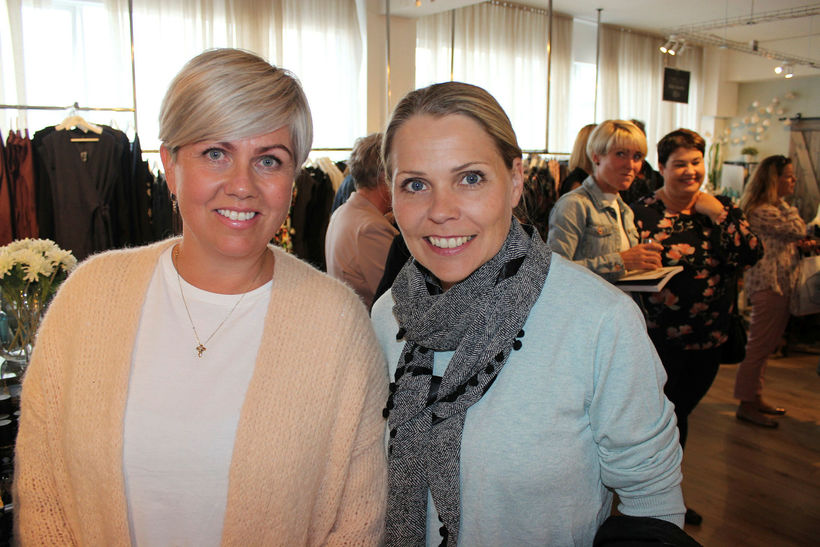 Brynja Björk Bragadóttir og Ragnhildur Aðalsteinsdóttir.