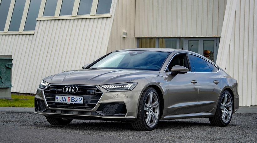 Audi A7 er aðeins 5,7 sekúndur upp í hundrað kílómetra ...
