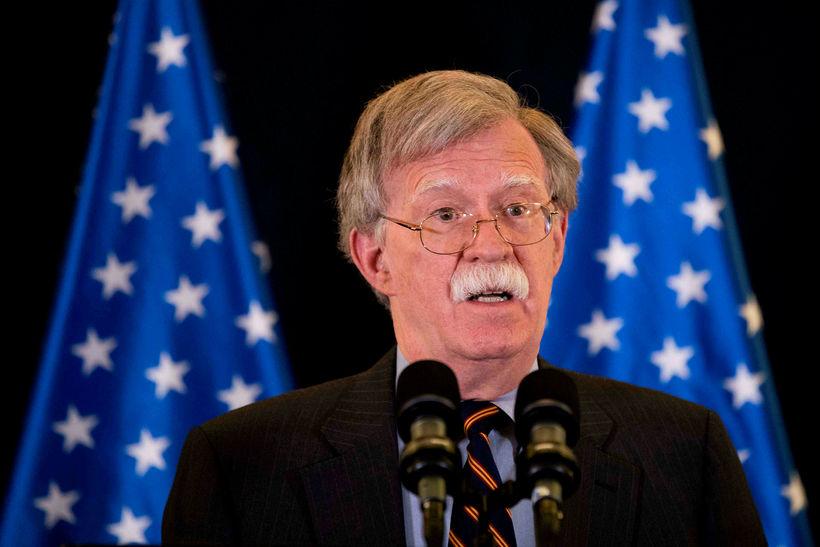 Sérstakur ráðgjafi forseta Bandaríkjanna í öryggismálum, John Bolton.