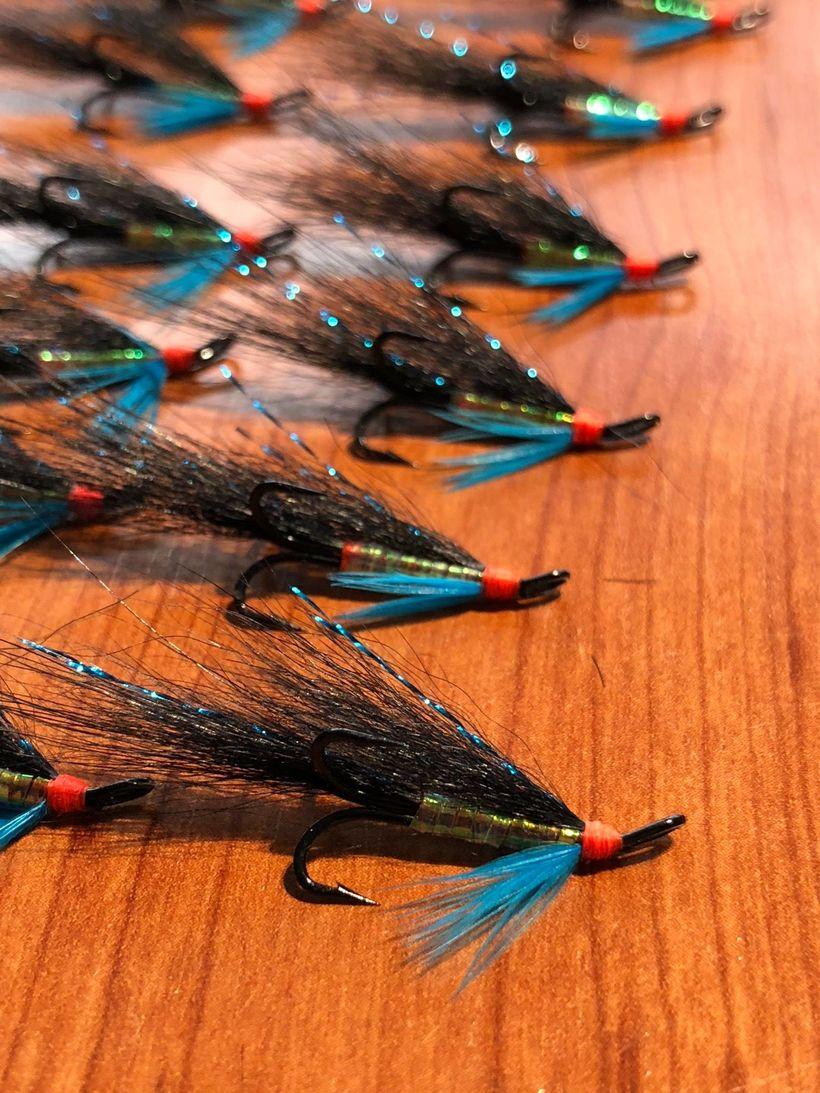 Haugurinn er sennilega þekktasta fluga Sigga. Enda er hann kenndur …