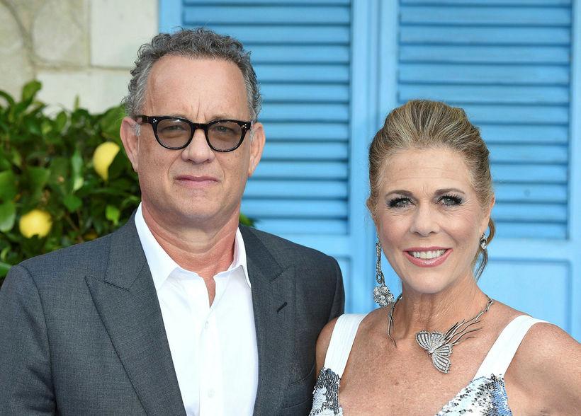Tom Hanks og Rita Wilson. Hjónin kynntust við tökur á ...