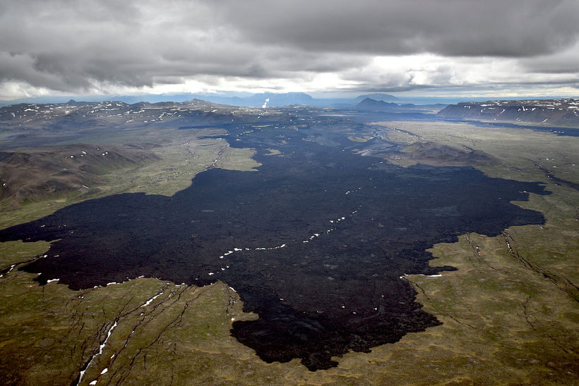 Lava field Holuhraun will hold the land captive forever.