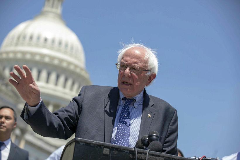 Bernie Sanders laut í lægra haldi gegn Hillary Clinton í ...