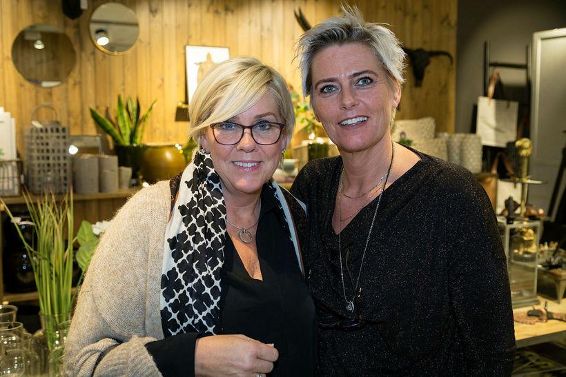 Sólveig Ólafsdóttir og Birna Björnsdóttir.