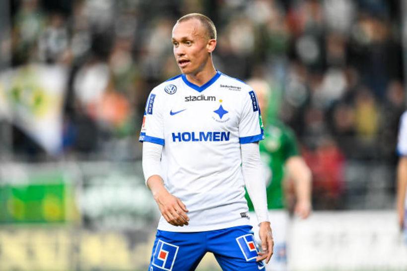 Guðmundur Þórarinsson lék allann leikinn með Norrköping.