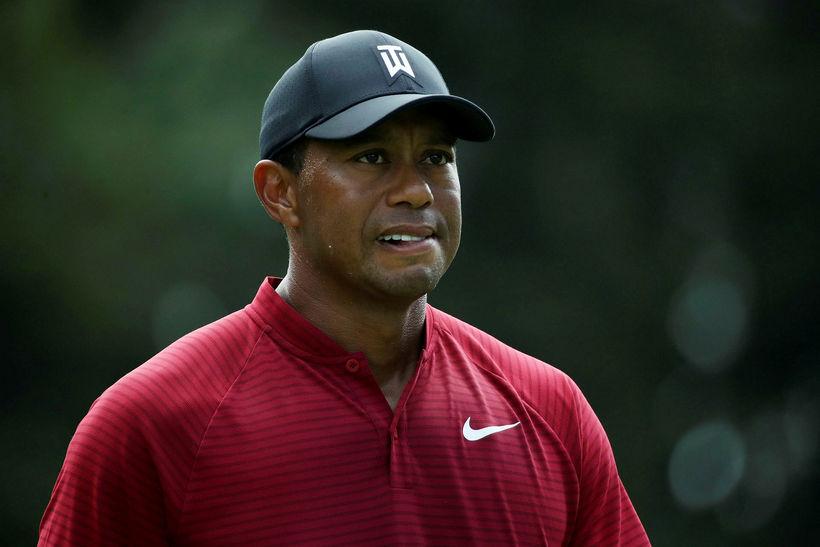 Tiger Woods þurfti ef til vill að bíta í vörina ...