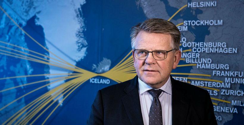 Björgólfur Jóhannsson var gestur Kastljóss á RÚV í kvöld.
