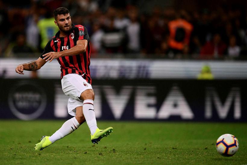 Patrick Cutrone hefur verið í láni hjá Fiorentina á Ítalíu …
