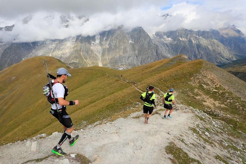 Frá Ultra-Trail du Mont-Blanc, UTMB, í fyrra.