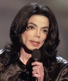 Michael Jackson á tónlistarhátíð í Las Vegas í október 2003.