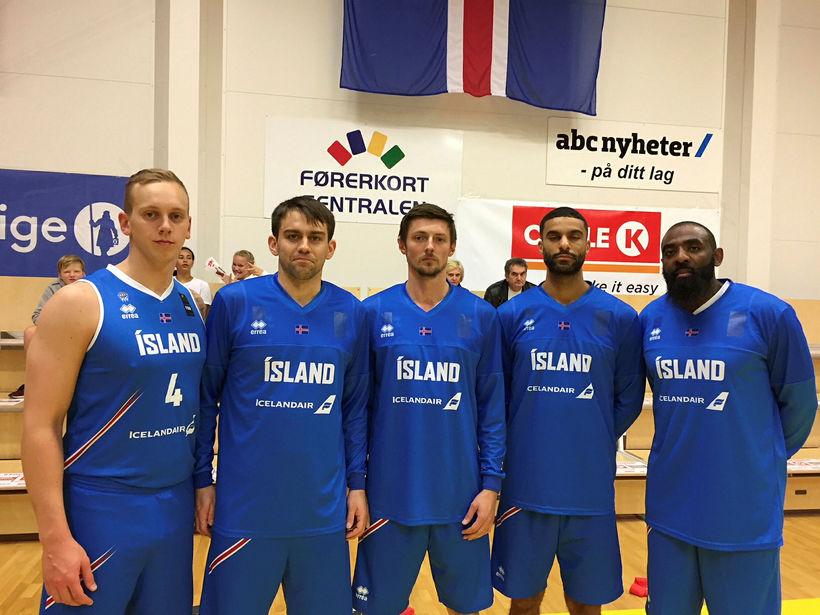 Kristján Leifur Sverrisson, Emil Barja, Haukur Óskarsson, Collin Pryor og ...