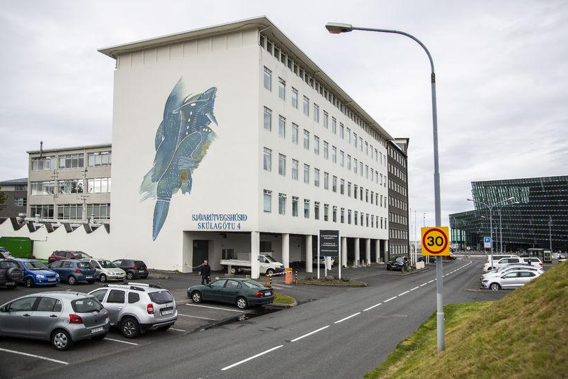 Sjávarútvegshúsið við Skúlagötu þar sem Hafransóknarstofnun er til húsa.