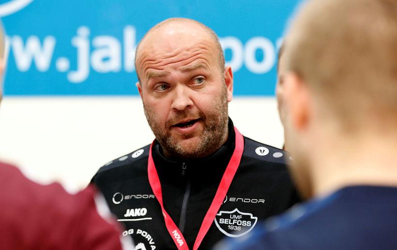 Patrekur Jóhannesson þjálfari Selfyssinga.