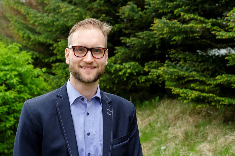 Sindri Aron Viktorsson læknir.